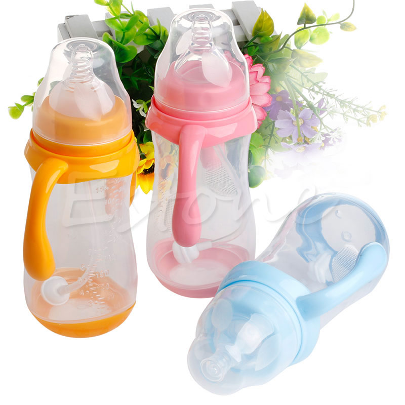 2018 1Pc 320ML Wide Neck Anti-colic Baby Infant Milk Feeding Nipple Bottle Nurser New Baby Kids Child Gifts