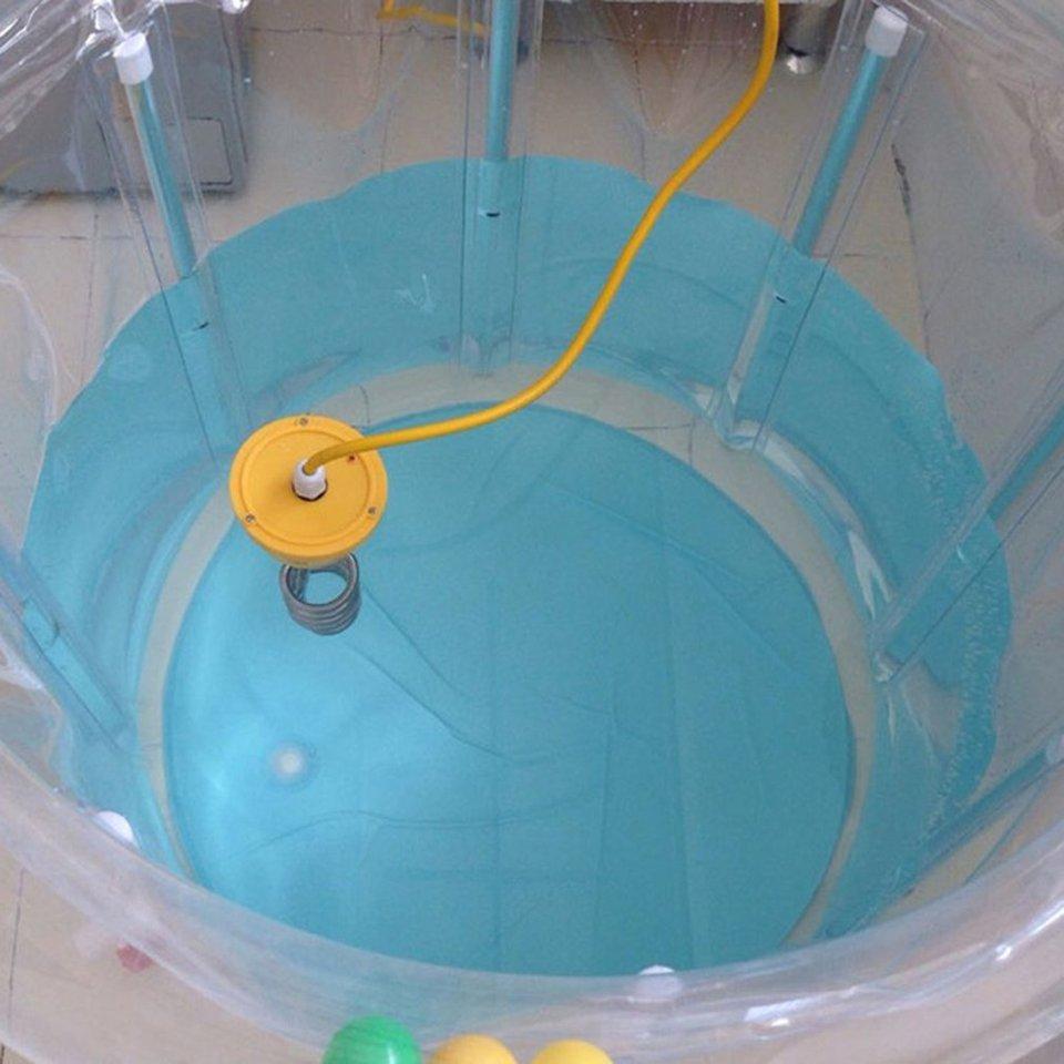 GHFHH Heizung 3000W 3m Elektrizit/ät Immersionswasserelement Kessel Tragbares Wasser Heizst/äbe f/ür aufblasbare Schwimmbadwanne EU-Stecker