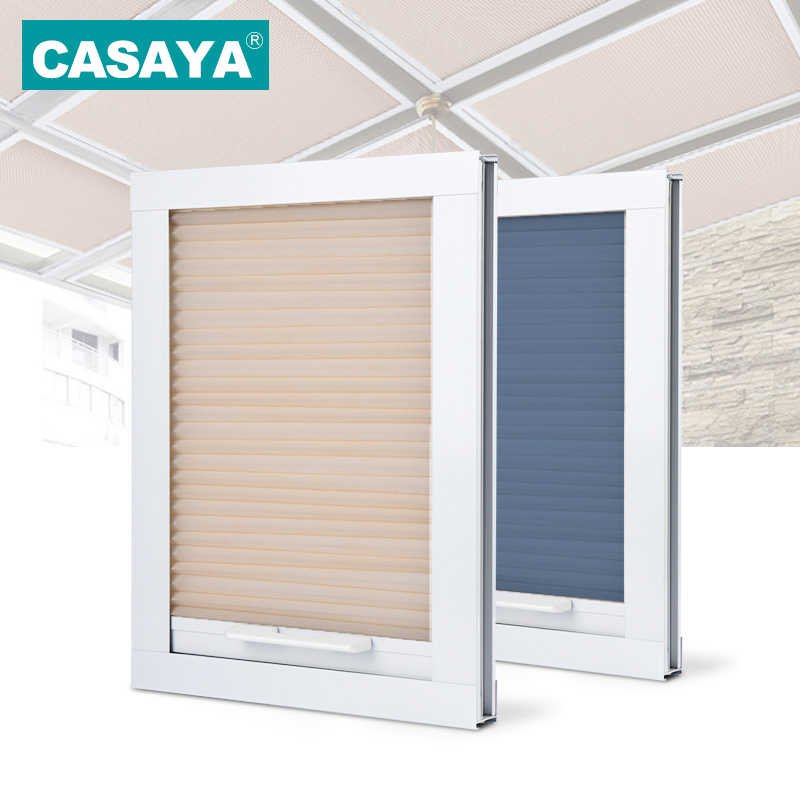 Customized Size Roof Skylight Honeycomb Blinds Daylight/Blackout Window Cellular Blinds for Roof 16 color