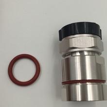 1pce разъем 7/16 DIN разъем контактный зажим 7/8 «кабель радиочастотный коаксиальный прямо серебро