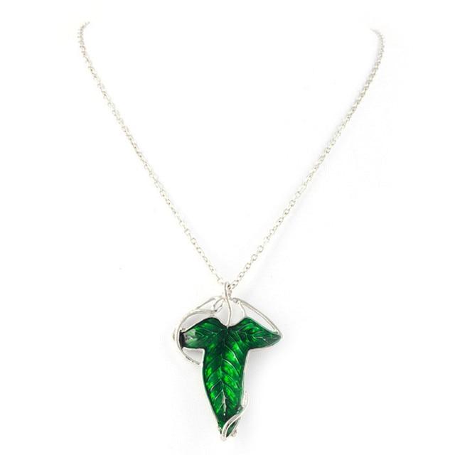 2016 fashion leaf necklace the hobbit vintage elf green leaf 2016 fashion leaf necklace the hobbit vintage elf green leaf necklace pendant lord of the ring aloadofball Gallery