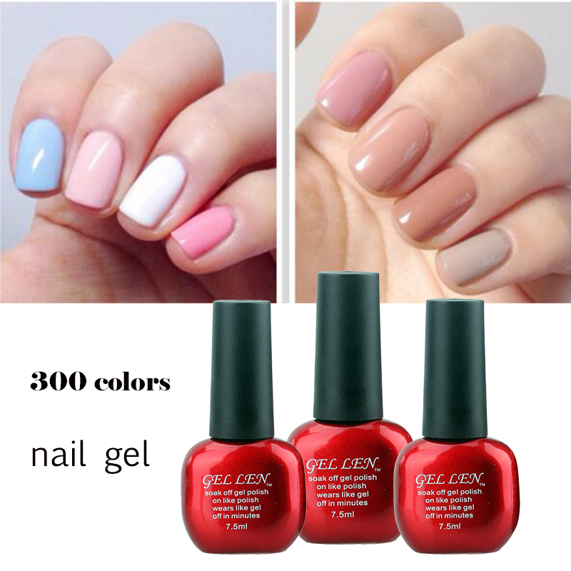 Gel Nail Polish Sale: Aliexpress.com : Buy Gel Len Nail Polish Hot Sale Nail Gel