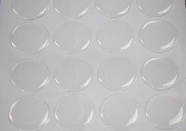 1000pcs 1 inch 25 4mm clear 3d round epoxy stickers dome resin stickers adhesive