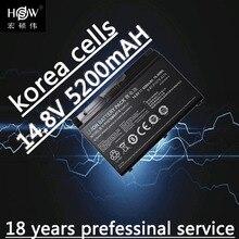 Original Battery For Clevo X611 P157 p157S HASSEE K780S k680c K670G-i7 D1 XMG P704 P157SMBAT-8 6-87-P157S-4272 bateria akKU