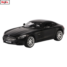 Maisto 1:24 Mercedes AMG-GT manufacturer authorized simulation alloy car model crafts decoration collection toy tools