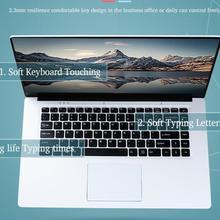 Игровой ноутбук 8 ГБ, 64 ГБ, 120 ГБ, 240 ГБ, 15,6 дюйма, Windows 10, языковая ОС, быстрая загрузка, ноутбук, русская наклейка, клавиатура