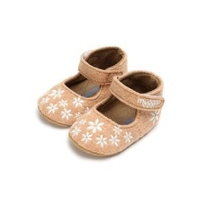 Newborn Baby Shoes First Walk Baby Cute Embroidery Floral Sh