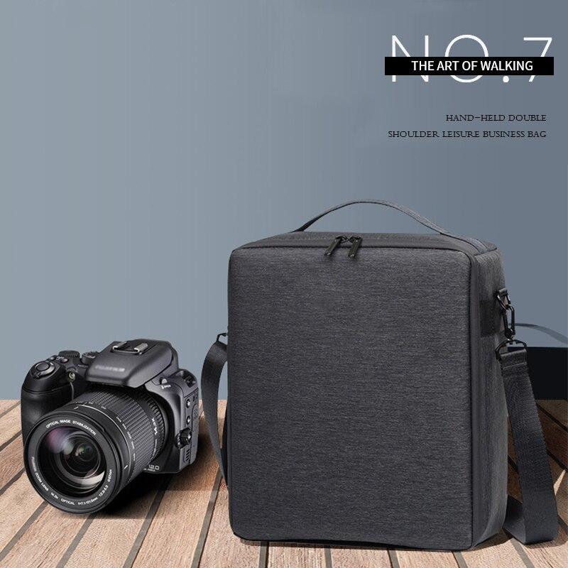 Bolsa da Câmera Divisor para Nikon Dslr Digital Mochila Respirável Fotografia Câmera Sholuder Bolsa Inserir Case Canon Sony