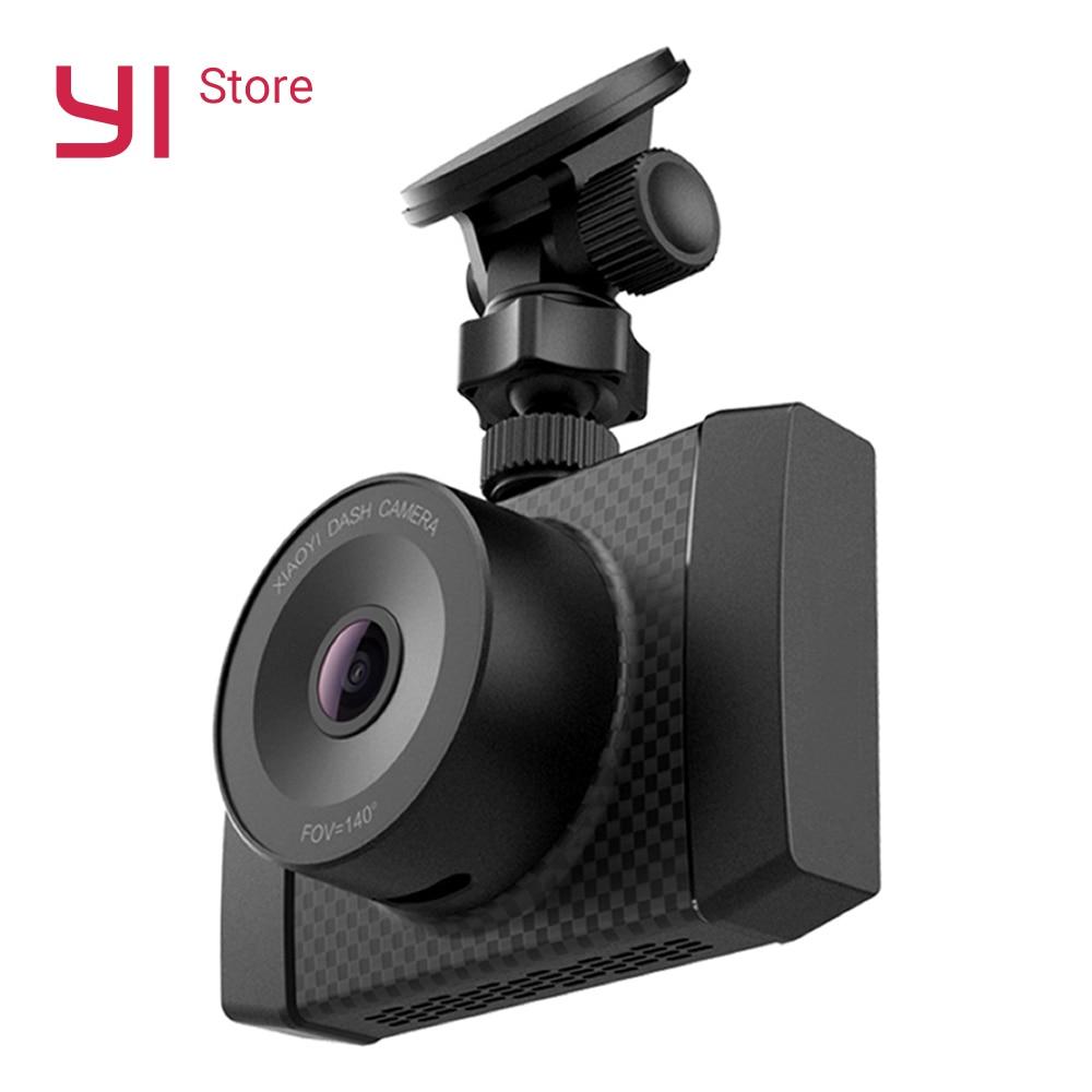 YI Ultra Dash камера с г 16 г карты К 2,7 к DVRS разрешение голосового управления двухъядерный чип Датчик света 2,7 дюймов широкоэкранный все-стекло