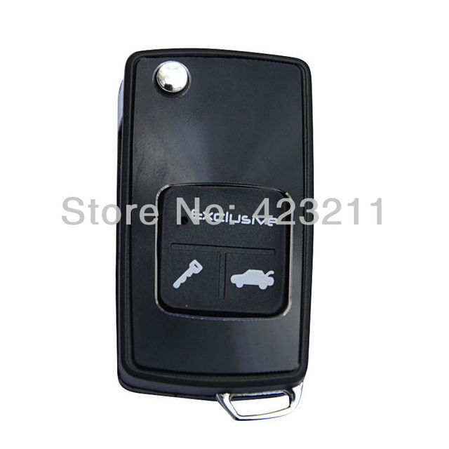 Flip Folding Remote Key Case Shell For Chevrolet Epica 3 Buttons FT0031