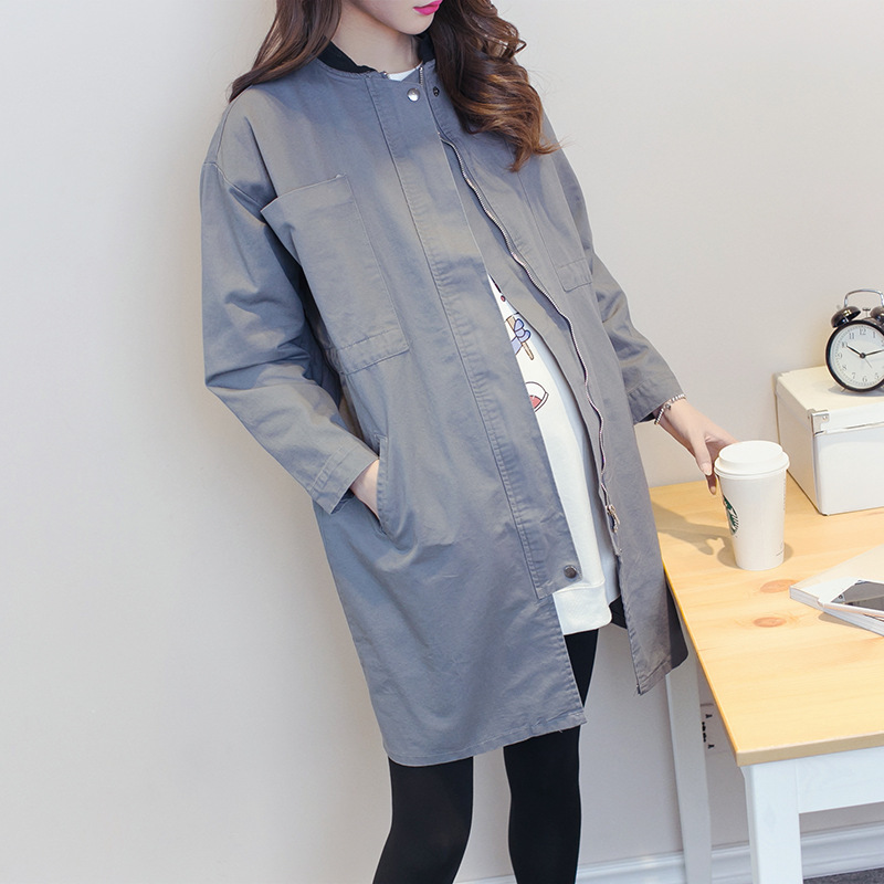Loose Large Size Jacket For Pregnant Women Outerwear Coats Maternity Coat Jackets  Maternity Clothing Pregnancy Clothes Y751 цены онлайн