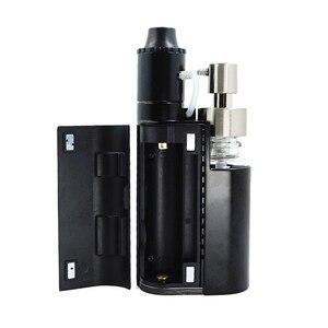Image 4 - Oryginalny Kanger Drip EZ zestaw startowy 80W E papieros Vape parownik z pompą Push RBA 0.3Ohm cewka kroplowa 0.2Ohm e zestaw papierosów