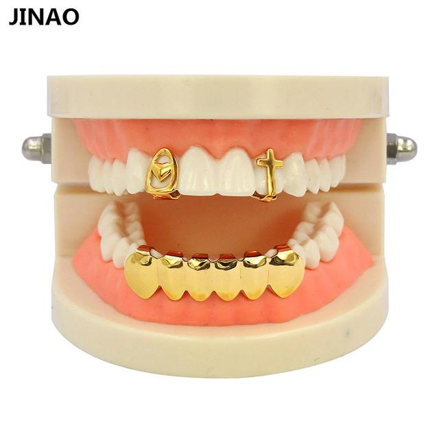 JINAO Open Face Gold Color...