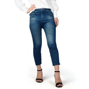 992acd5c73 Mezclilla dama alta cintura Sexy pantalones vaqueros del lápiz Delgado  pantalones Seamless mujeres flacas Stretch Jeans slim Jeans Leggings  pantalones ...