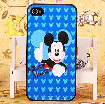 Girls MICKEY for apple for iphone for 4 4s phone case for apple shell veneer
