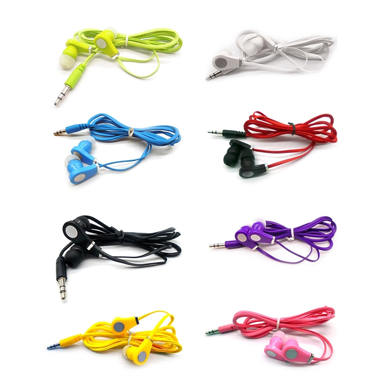 Official Original Cheap Earphone In-ear Colorful Headset Hifi Earbuds Bass Earphones High Quality Ear Phones For Phone