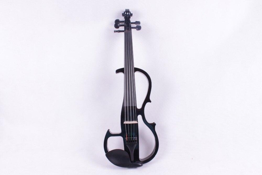 4/4 5 string black color Electric violin High quality