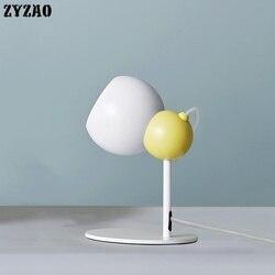 Creative Catoon lampa biurkowa Led regulowana studium ochrona oczu lampka do czytania sypialnia nocna salon Home Decor lampa stołowa Led