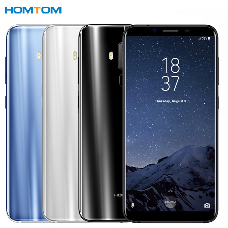 HOMTOM S8 4G Android 7.0 4GB+64GB MTK6750T Octa Core Smartphone Dual Back Cameras 5.7 inch HD Cell Phone LTE