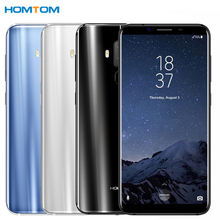 HOMTOM S8 4G Android 7.0 4GB+64GB MTK6750T Octa Core Smartphone Dual Back Cameras 5.7 inch HD Cell Phone LTE(China)