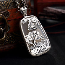 2018 Rushed Accented Heart New S990 Fine Lotus Pond Moonlight Agate Long Joker Woman Sweater Chain Pendant(China)