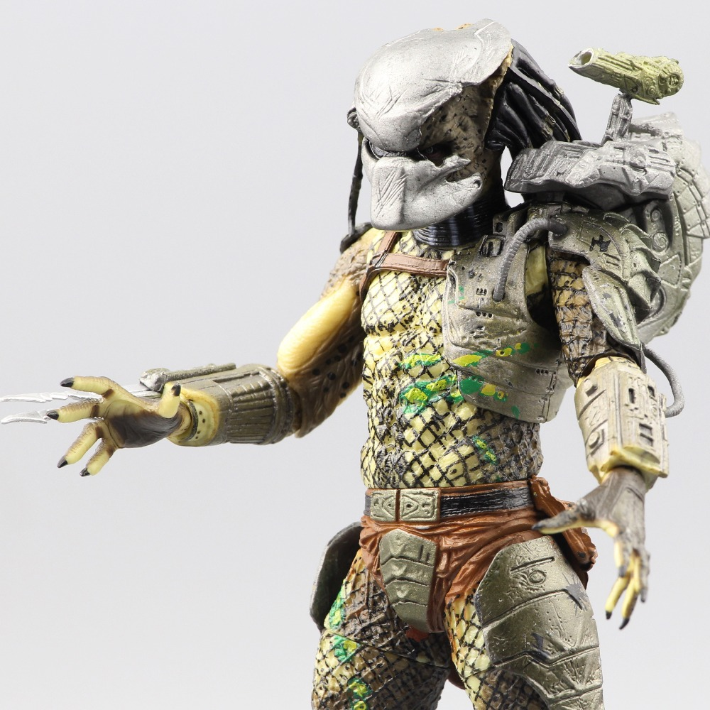 Free Shipping Neca P1 7 Soldier Set Classic Predator 21cm Alien Hunter Primevil AVP free soldier черный маленький
