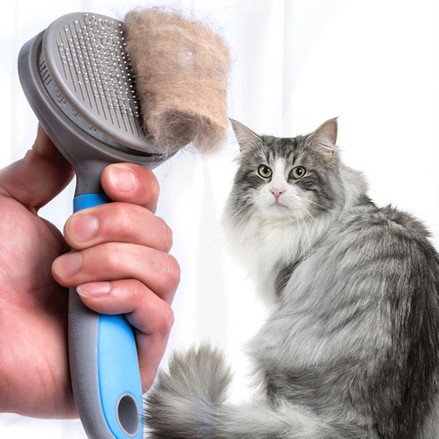 Xiaomi Youpin Pet Cat Hair Removal Brush Comb Pet Grooming Tools Hair Shedding Trimmer Comb for Cats Xiomi Mijia 47 2