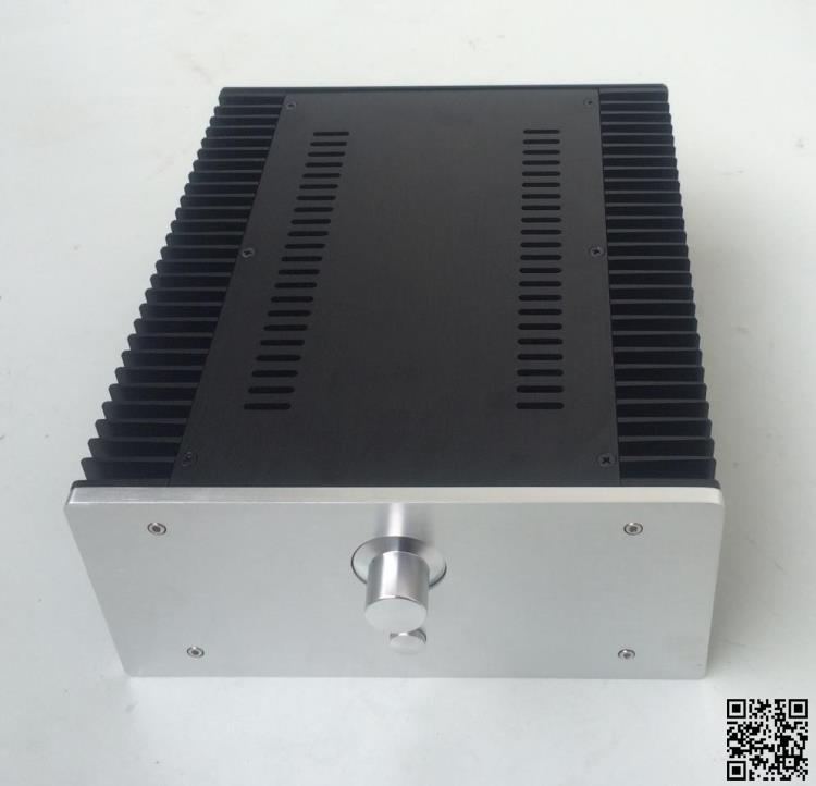 case size:260*120*311mm 2612 Full aluminum amplifier chassis / Class A amplifier case /AMP Enclosure/amplifier case/DIY box 2015 full aluminum chassis amplifier case for lm3886 power amp diy box