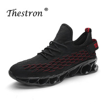 Thestron Running Shoes Men Sport Shoes Autumn Spring Outdoor 2019 Luxury Brand Men Lace Up Air Jogging Athletic Trainers Sneaker thestron sport shoes quality sneakers mens running shoes sport mens spring anti slip jogging shoe men black lace up trainers men