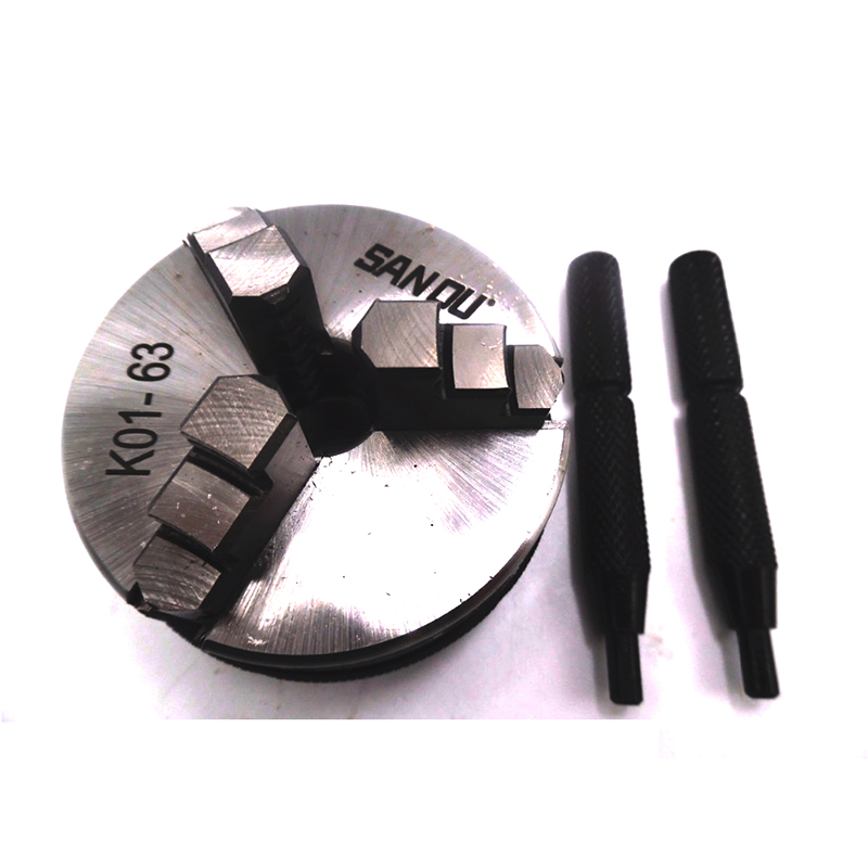 3 Jaw LATHE Chuck Manual Self-Centering 2.5 K01-63 Mini Chuck K01 63mm M14 Hardened Steel for Wood Lathe manual lathe chuck k01 80b k01 100b mini 3 jaws chuck 14 1 self centering clamping hardened steel lathe chuck