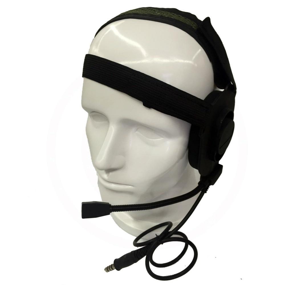 imágenes para Z Táctica Bowman Elite II Headset Z Tactical Airsoft Radio Mic Boom 3 Verde HD-03 Mejor