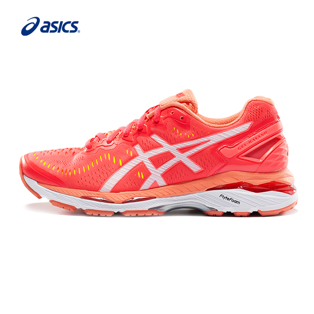 da1afdf1dd44 Original ASICS GEL-KAYANO 23 Women s Stability Running Shoes ASICS Sports  Shoes Sneakers Breathable Leisure outdoor T696N-2001