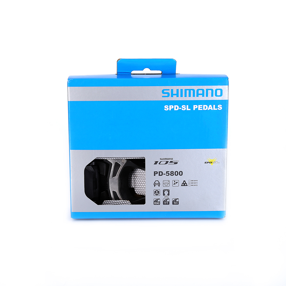 2016 NOUVEAU Shimano 5800 PD-5800 105 SPD SL Carbone Pédales & SM-SH11 Flottant Crampons