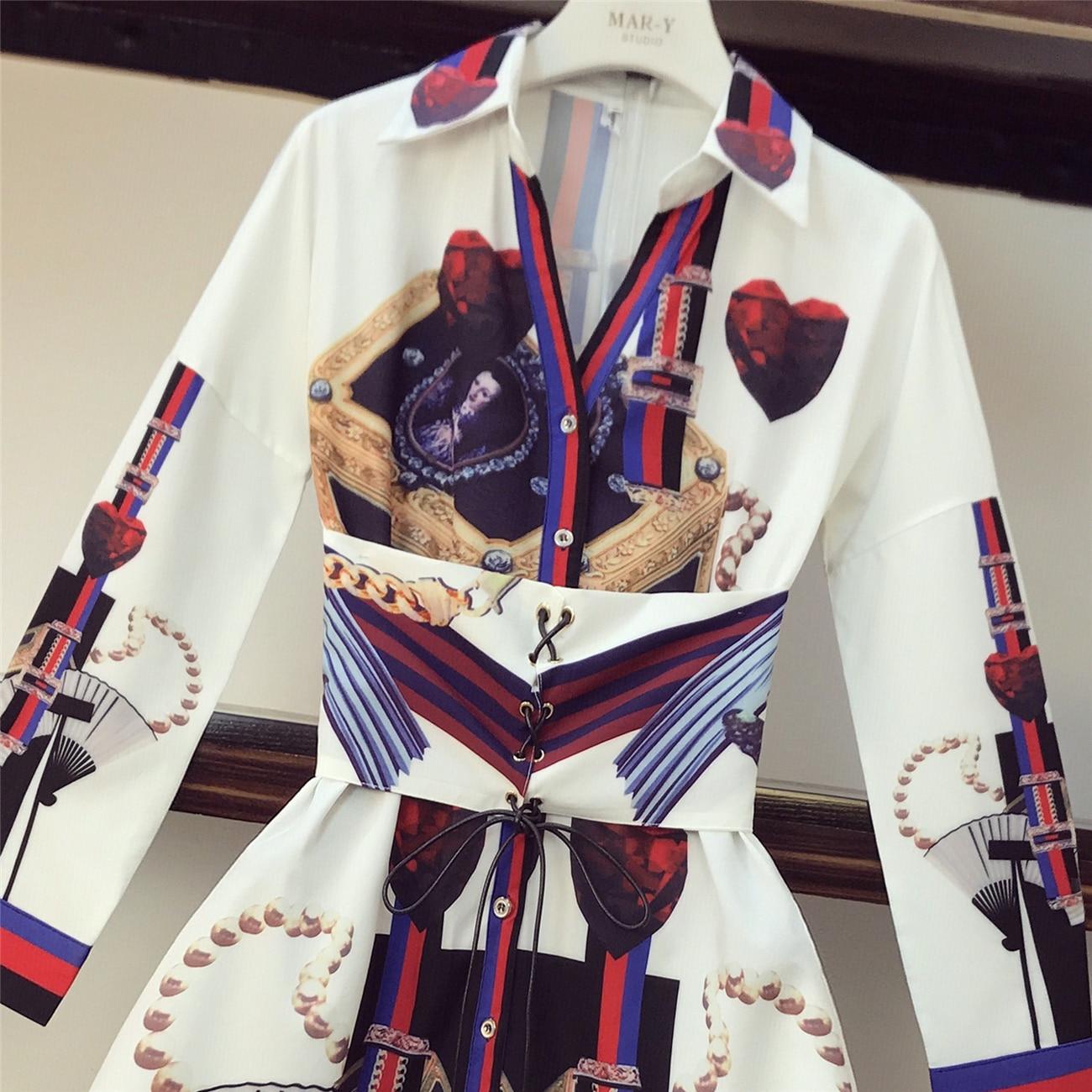 Spring Dress Women 2019 New Fashion Retro Chiffon Shirt Dress Girls Lady Victoria Court Style Dresses Long Sleeve Party Vestidos