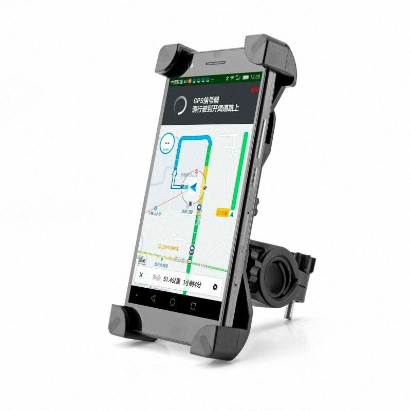 Antideslizante Soporte para Teléfono Universal 360 Rotating bici de La Bicicleta