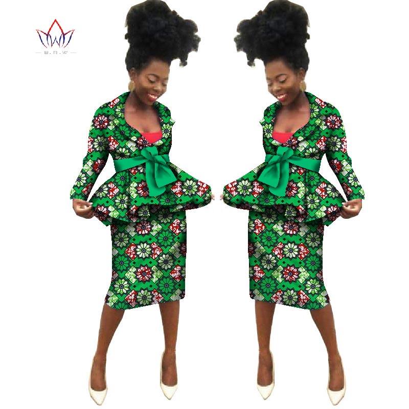Sommar Nya afrikanska kjol passar Dashiki kvinnor elegant dam - Nationella kläder - Foto 6
