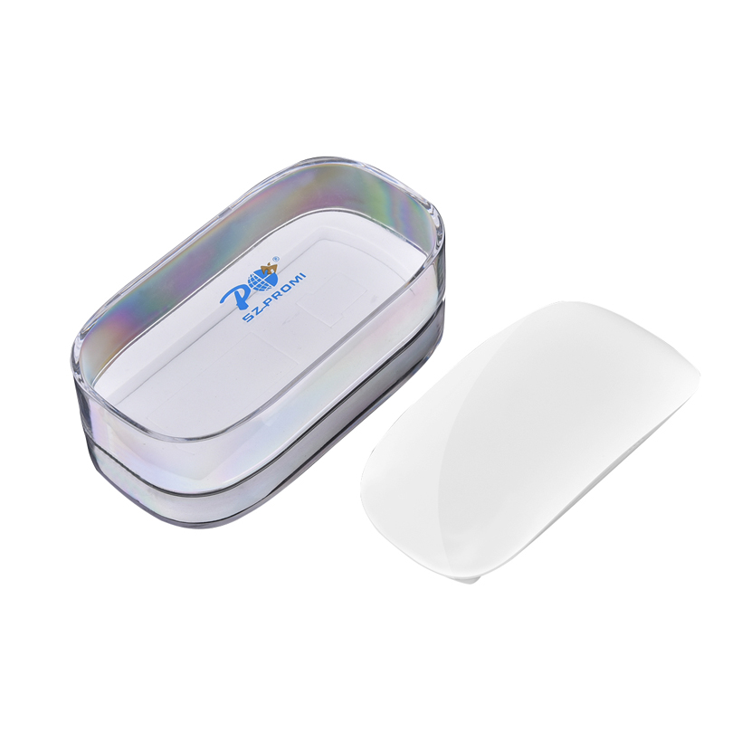 P 823 Optical Wireless Touch Mouse 2.4G USB Receiver Slim Silent Ergonomic Magic Mice For Apple Mac OS Computer/Win Laptop PC