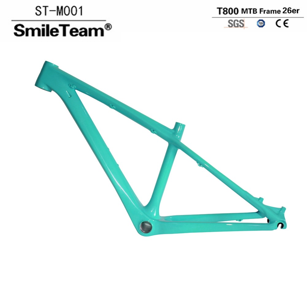 Smileteam 26er Carbon MTB Mountain Bike Frame T800 Carbon 14inch 16inch MTB Bicycle Frame For Women and Child 2 Year Warranty 450260 b21 445167 051 2gb ddr2 800 ecc server memory one year warranty