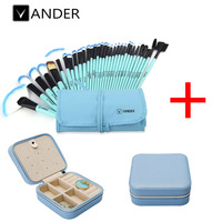 32Pcs Pro Makeup Brushes Set Make Up Brush Foundation Powder Blush Eyeliner Pinsel Cosmetic Bag Creative