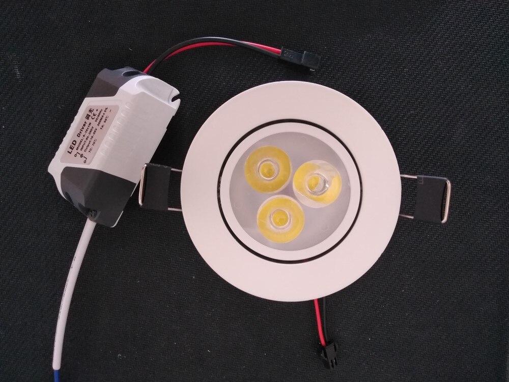 10 шт. Лидер продаж CREE 9 Вт 12 Вт светодиодные светильники затемнения теплый белый Природа белый холодный белый встраиваемые светодиодные лам...