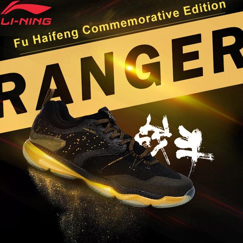 Li-ning hommes Ranger chaussures de Badminton Fu Haifeng Signature édition coussin BOUNSE + doublure chaussures de Sport baskets AYAM009 XYY047