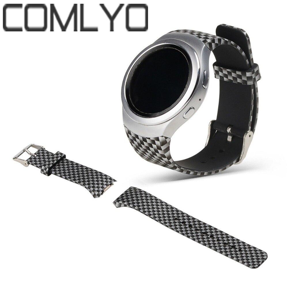 COMLYO Watchband-Strap Gear Sm-R720-Band Sport-Watch Silicone Galaxy Samsung TPU