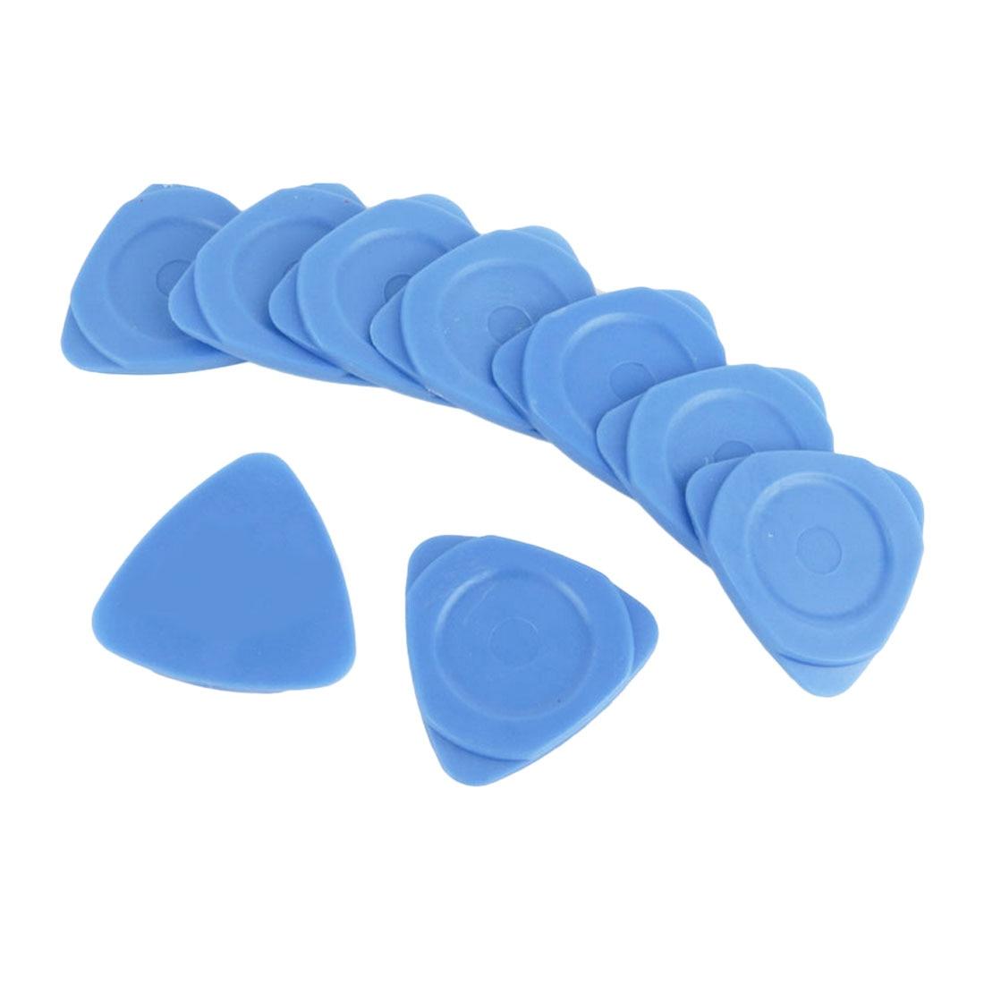Repair Tool Kit 10 PCS Phone Opening Tools Plastic Guitar Picks Pry Opener for iPhone iPad Tablet PC Disassemble Tool(China)