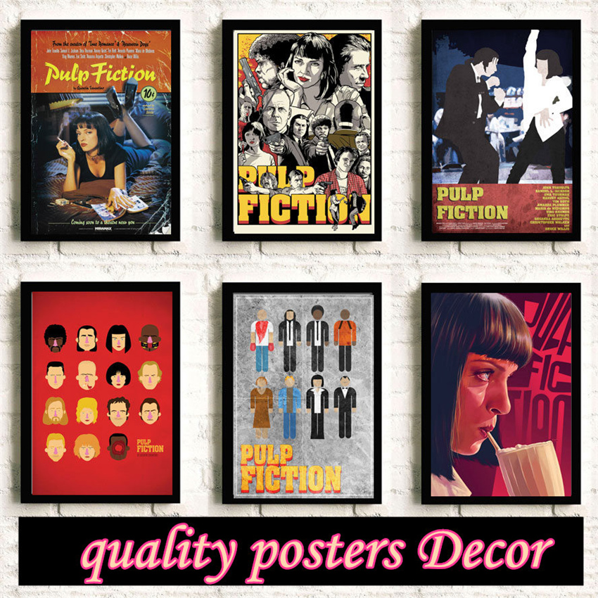 Pulp Fiction Mia Poster Canvas Print For Home Decor Unframed Painting 60X90cm