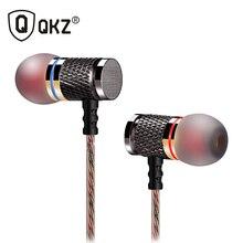 QKZ HiFi Metal ciężki bas w ucho słuchawki douszne słuchawki muzykę w jakości dźwięku profesjonalny telefon komórkowy słuchawki douszne fone de ouvido DM6
