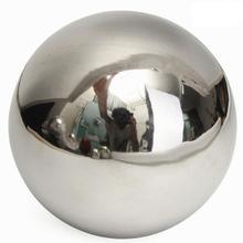 Сферический шар из нержавеющей стали с высокой яркостью 15 см/12 см/10 см/8 см/5,1 см украшение садового орнамента для дома