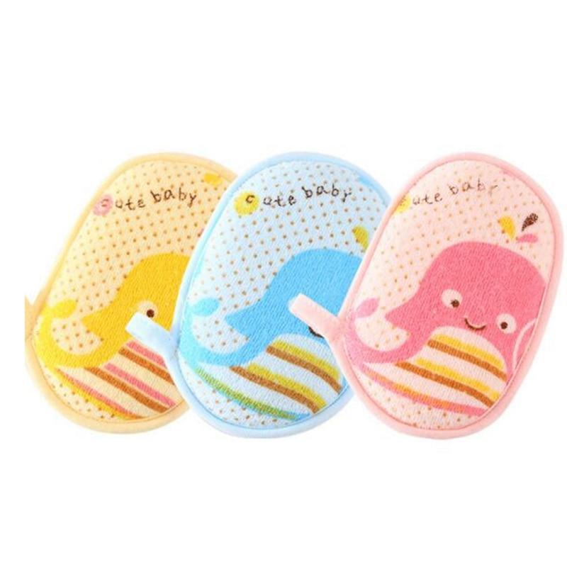 Bath Brushes Baby towel accessories Infant Shower faucet Sponge Cotton Rubbing Body Wash child Brush bath brushes sponges rub