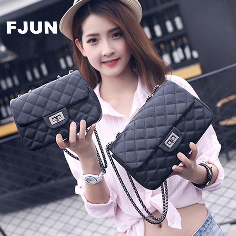 FJUN Women Shoulder Bag 2018 Fashion Bolsos Mujer Bolsa Feminina Handbag Black Crossbody Bag Women Hand Quilted Bag For Lady dhl ems 2 sets 1pc new sick im30 15nds zw1