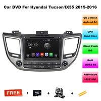 8 Inch Quad Core HD Android 5 11 CAR DVD Player FOR HYUNDAI Ix35 TUCSON 2016