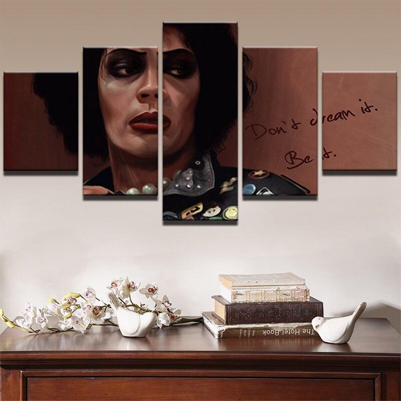 Домашний настенное Искусство Холст Картина рамка для комнаты печать плакат 5 панель фильм звезды символов Современная живопись